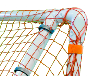 Park and Sun Sports - FGBB-643-R Folding PVC Sports Goal and Rebounder Clips