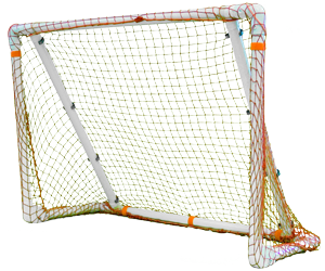 Park and Sun Sports - FGBB-643-R Folding PVC Sports Goal and Rebounder