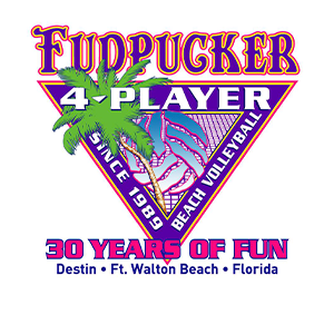 Emerald Coast volleyball, home of the Emerald Coast Volleyball Week, Fall Classic and the famous Fudpucker 4 Player beach volleyball tournament