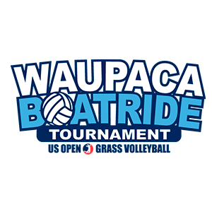 Waupaca Boatride men's and women's grass triples volleyball tournament is a held on the second Saturday of July each year in Oshkosh, Wisconsin.