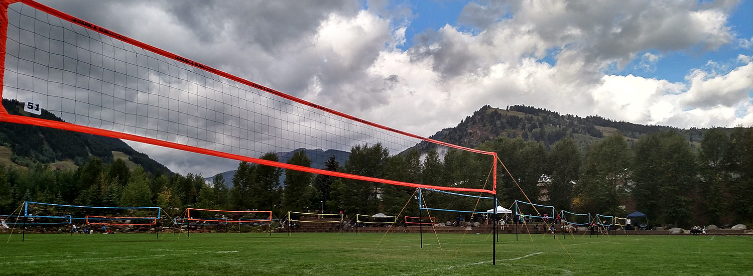 Adjustable Beach Volleyball And Grass Volleyball Boundary