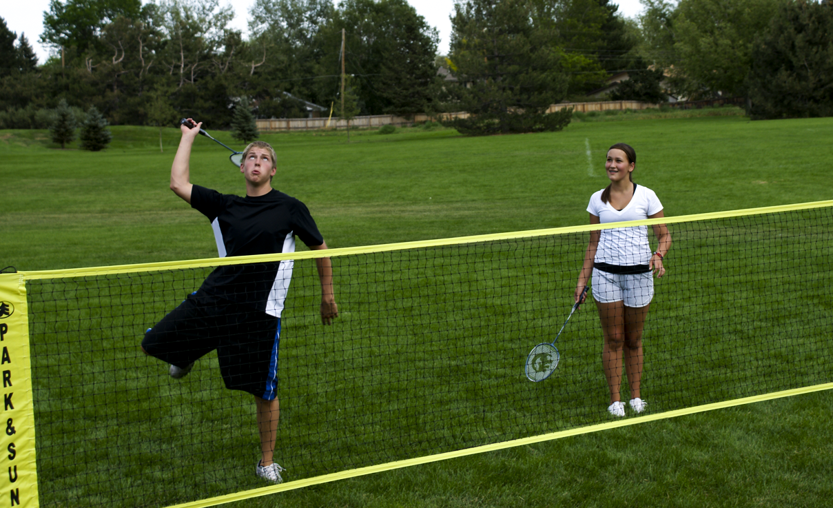 Park Amp Sun Sports Official Volleyball Net System Of Summer