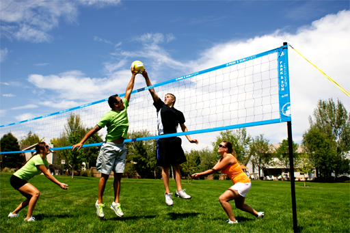 Volleyball S Best Outdoor Volleyball Set Portable