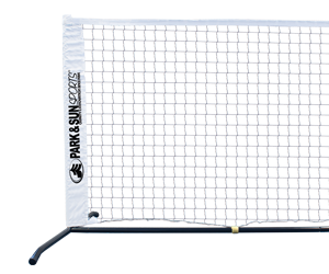Park and Sun Sports Portable Tennis Set Front End View