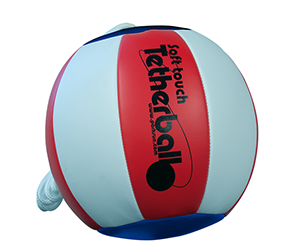 Park and Sun Sports - SoftTouch Red white and blue Tetherball