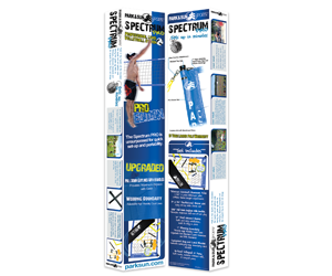 Park and Sun Sports Spectrum Pro Volleyball System Retail Package