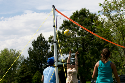 Park and Sun Sports Sport Series Volleyball Net Systems