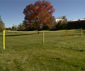 Park and Sun Sports - 24ft Sport Fence Grass set-up
