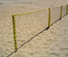 Park and Sun Sports - 24ft Sport Fence sand set-up