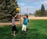 Park and Sun Sports - Deluxe three piece Tetherball Set action thumbnail