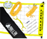 Park and Sun Sports TS-FLEX-1000 Yellow Volleyball Net System thumbnail