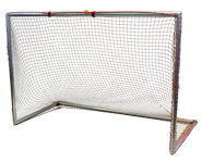 Park and Sun Sports - 6'x4'x3' Alulminum Soccer Goal with slip on Bungee Net